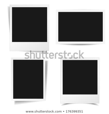 Aislado foto blanco papel pared película Foto stock © Suriyaphoto