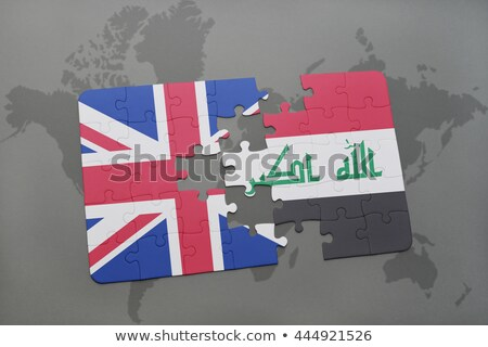 European Union and Iraq Flags in puzzle Stock photo © Istanbul2009