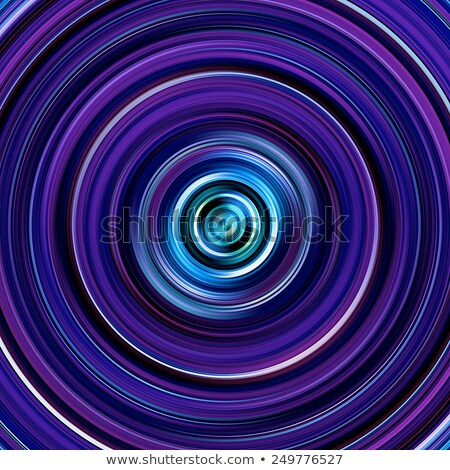 Purple and blue graduated color circles illustration. Stock photo © latent