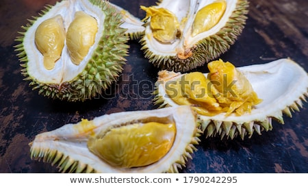 durian fruit ripe for eaten stock photo © tang90246
