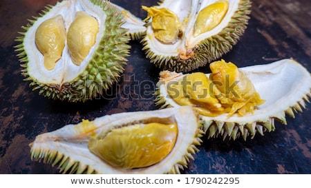durian fruit ripe for eaten stock photo © tang90246