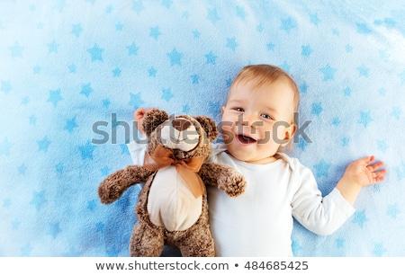1 year old baby boy portrait stock photo © igabriela