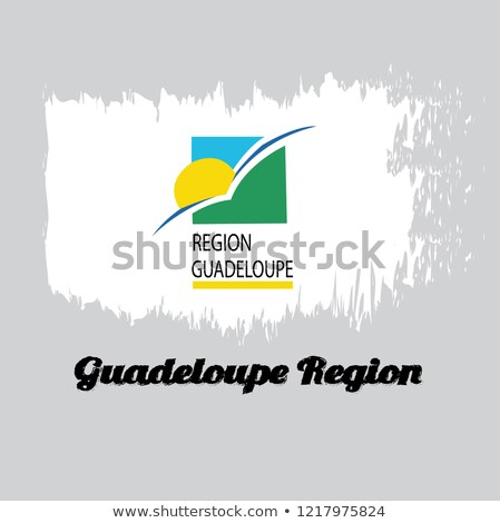 flag of Region of Guadeloupe Stock photo © Istanbul2009