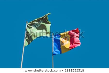 Саудовская флагами головоломки изолированный белый бизнеса Сток-фото © Istanbul2009