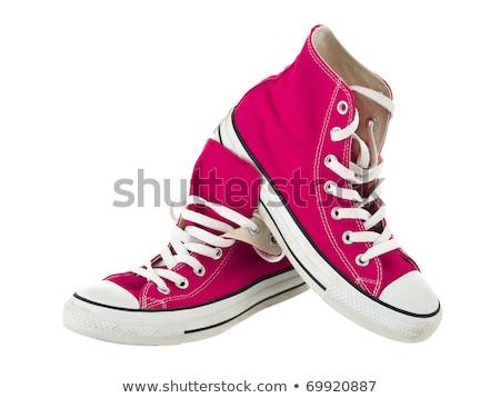 случайный · обуви · случай · служба · пару · рабочих - Сток-фото © fuzzbones0