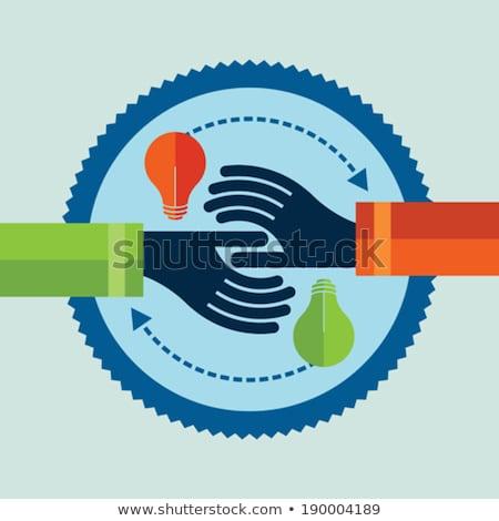 Elad irányítás játék üzletember munka háttér Stock fotó © fuzzbones0