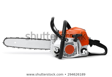 Chainsaw isolated Stock photo © shutswis