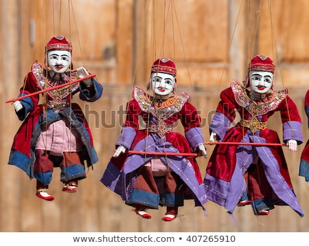 Traditional Burmese puppets Stock photo © smithore