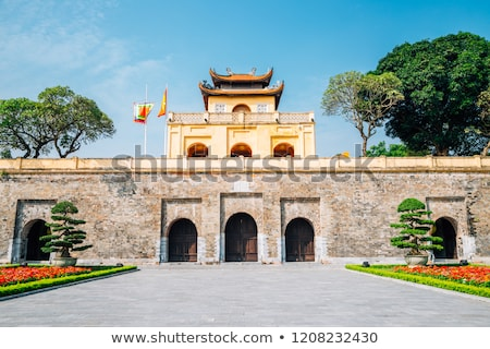 Imperial Citadel of Hanoi Stock photo © trocphunc
