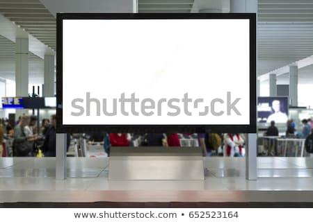 空港 · 搭乗 · ぼやけた · ビジネス · 背景 · ショッピング - ストックフォト © vichie81