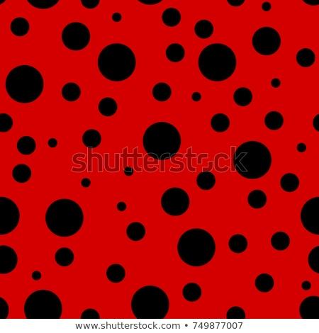 joaninhas · dois · abstrato · diversão · vermelho · cor - foto stock © bluering
