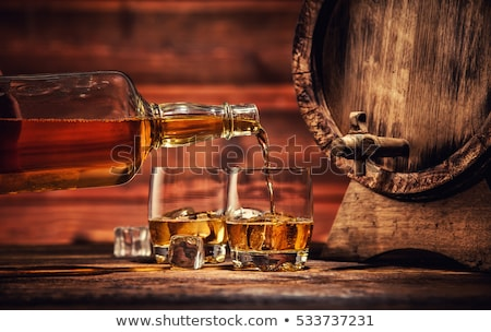 Szeszes ital üveg fehér Stock fotó © devon