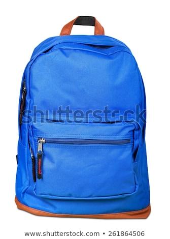 Backpack isolated. knapsack on white background. rucksack Stock photo © MaryValery