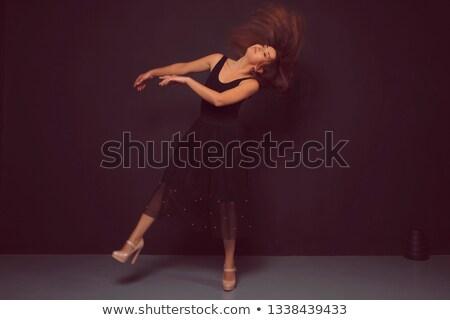танцовщицы позируют коричневый стены фары портрет Сток-фото © julenochek