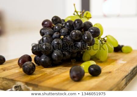 black and green grapes Stock photo © M-studio