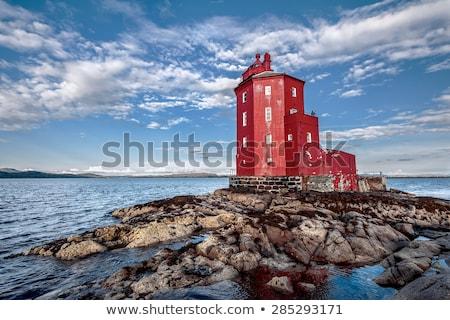 морской пейзаж ярко красочный небе природы морем Сток-фото © JanPietruszka