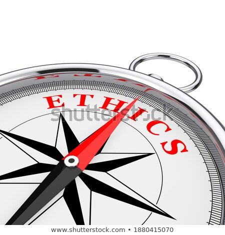 strategy   text on conceptual compass with red needle 3d stock photo © tashatuvango