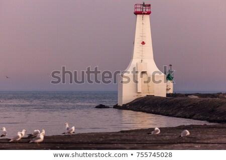 Маяк озеро Онтарио Канада здании свет Сток-фото © benkrut