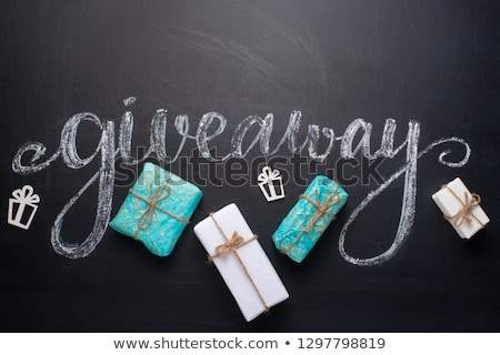 social media written on a blackboard with icons stock photo © zerbor