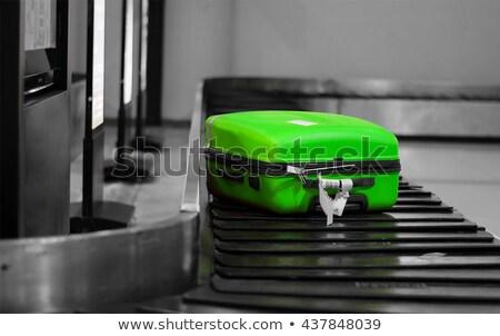 Green bag for world trip  Stock photo © studioworkstock