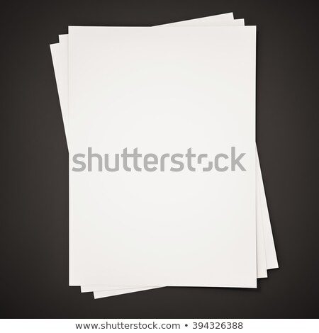 top view illustration of sheets of paper stock photo © sonya_illustrations