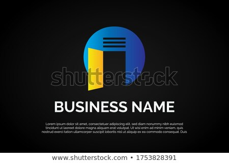 house logo with letter o sign logo template stock photo © taufik_al_amin