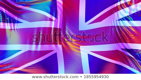 British and LGBT flag. Symbol of tolerant United Kingdom. Gay si Stock photo © popaukropa