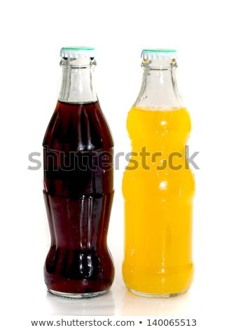 two glass bottles with lemonade stock photo © melnyk