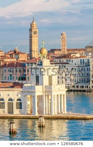 Veneza Itália ver velho casa Foto stock © neirfy