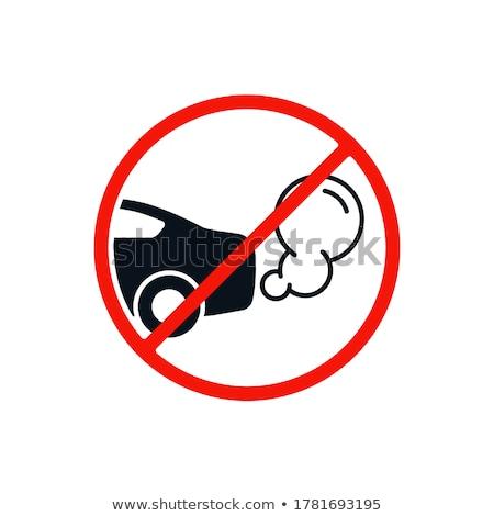 no idling road sign symbol Stock photo © romvo