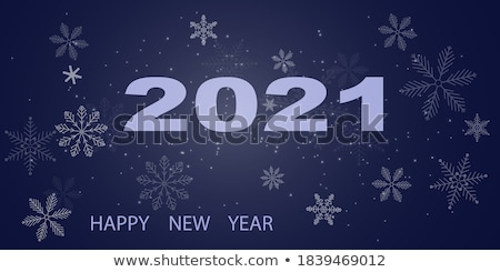 Snowflake Cut Out Icon Isolated on Blue Wintertime Stock photo © robuart