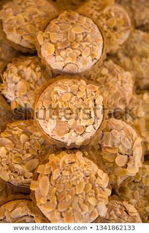 Traditional Maltese almond cakes on the market Stock photo © boggy