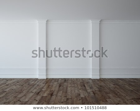 Empty Gallery Room And Plinth Stock photo © albund