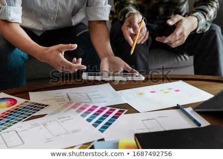 ストックフォト: ビジネス · 技術 · 創造 · チーム · デザイナー
