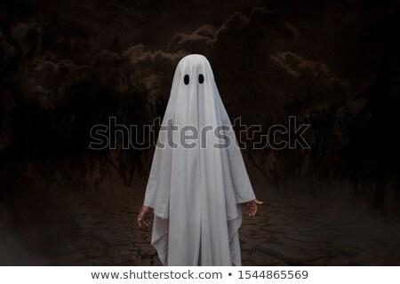 çocuklar hayalet görüntü çocuklar çocuk Stok fotoğraf © clairev