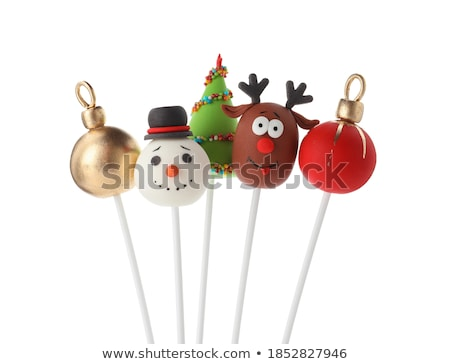 Cakes in the shape of popsicles Stock photo © Alex9500