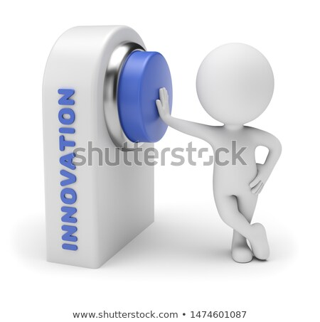 3D Small People - Introduce Innovation Stock photo © DragonEye