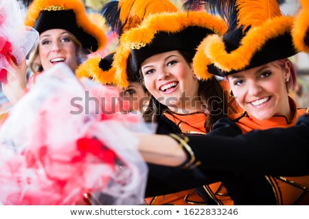 traditioneel · dans · groep · carnaval · viering · meisje - stockfoto © kzenon