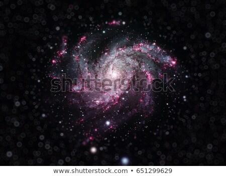 Vuurwerk Galaxy spiraal afbeelding klein Stockfoto © NASA_images