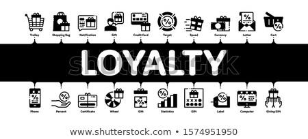 Loyaliteit programma banner vector Stockfoto © pikepicture
