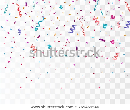 party streamers and confetti stock photo © m_pavlov