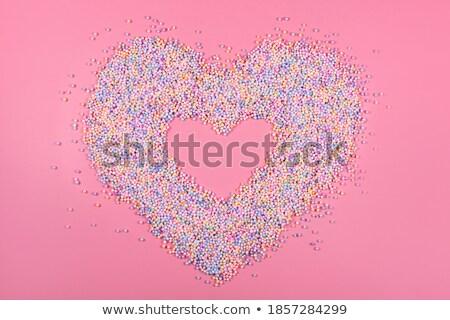 сердцах · пастельный · кадр · Валентин · различный - Сток-фото © nurrka