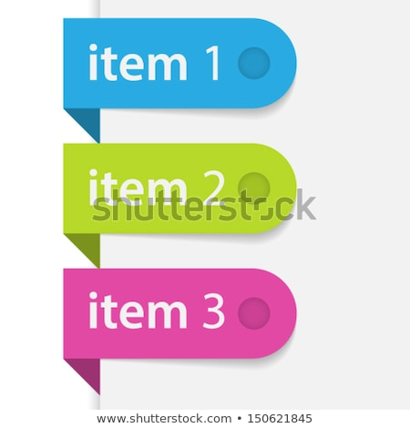 bookmark for discount item Stock photo © orson