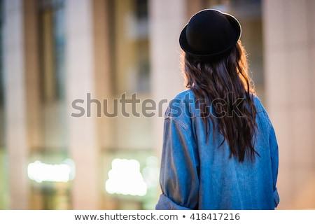 meisje · pels · vrouwen · mode · model - stockfoto © RuslanOmega