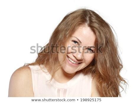 красивой · блондинка · девушки · природного · составляют · молодые - Сток-фото © darrinhenry
