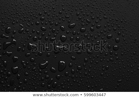 Bottled water on black background Stock photo © Raduntsev