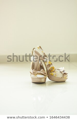clear diamond in light back Stock photo © prill