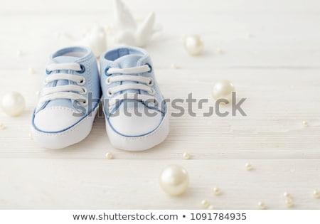 Baby Shoes close up Stock photo © zhekos