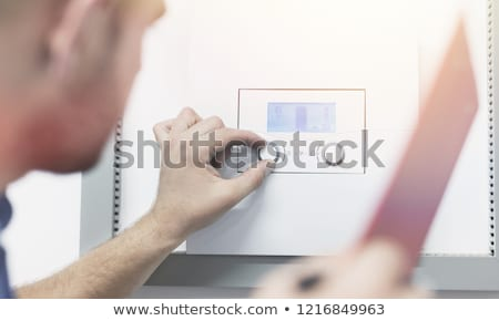 Tankless water heater stock photo © magraphics