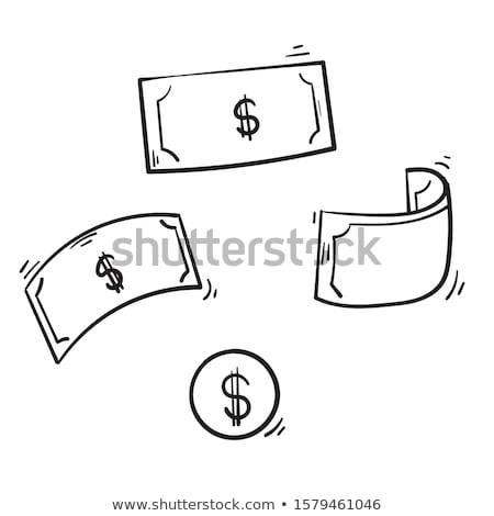 Doodle style money bag finance and business  Stock photo © rufous